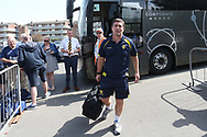 Burton Albion manager Nigel Clough arrives at the Roots Hall Stadium during the EFL Sky Bet League 1 match between Southend United and Burton Albion at Roots Hall, Southend, England on 22 April 2019.