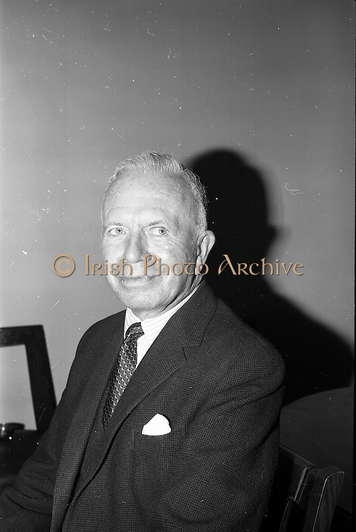 2/06/1965<br /> 06/22/1965<br /> 22 June 1965<br /> Launching new bulk guar delivery service By the Irish Sugar Co. at McGrath Brothers, Dublin. Picture shows Mr. Percy McGrath, Director and Partner,  McGrath Bros.