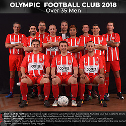 Olympic FC Over 35 Men 2018
