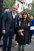 VIKTOR PINCHUK, H.E. SHEIKHA HOOR AL QASIMI, FUTURE GENERATION ART PRIZE @ VENICE 2019 Venice, Palazzo Ca'Tron, 9 May 2019