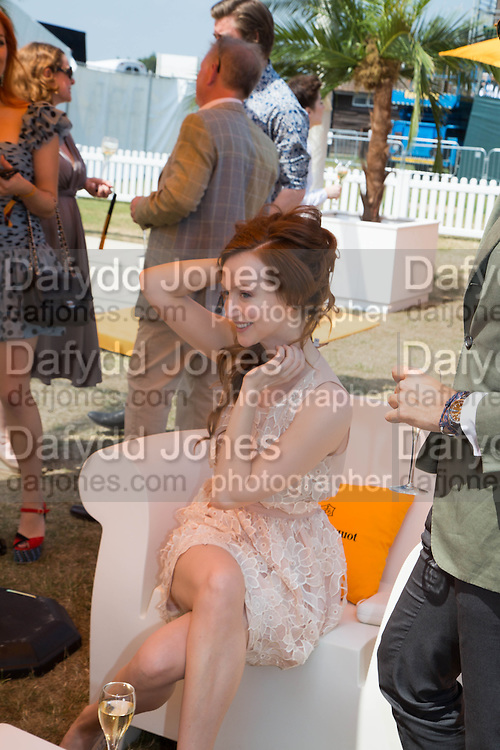 OLIVIA GRANT, Veuve Clicquot Gold Cup, Cowdray Park, Midhurst. 21 July 2013