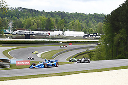 April 23, 2018 - Birmingham, Alabama, United States of America - ED JONES (10) of the United Arab  Emirates battles for position through the turns during the Honda Grand Prix of Alabama at Barber Motorsports Park in Birmingham, Alabama. (Credit Image: © Justin R. Noe Asp Inc/ASP via ZUMA Wire)