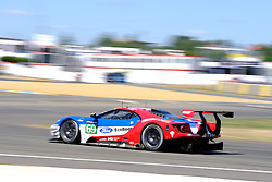 June 17, 2017 - Le Mans, Sarthe, France - FORD CHIP GANASSI TEAM USA MICHELIN FORD GT.RYAN BRISCOE (AUS) in action during the race of the 24 hours of Le Mans on the Le Mans Circuit - France (Credit Image: © Pierre Stevenin via ZUMA Wire)