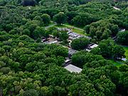 Nederland, Gelderland, Gemeente Ede, 21–06-2020;  Nationaal Park De Hoge Veluwe, Museum Kroller-Muller. Kröller-Müller Museum, hoofdgebouw.<br /> National Park De Hoge Veluwe, Museum Kroller-Muller (Kröller-Müller Museum). <br /> <br /> luchtfoto (toeslag op standaard tarieven);<br /> aerial photo (additional fee required)<br /> copyright © 2020 foto/photo Siebe Swart