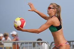 20160723 NED: NK Beachvolleybal 2016, Scheveningen <br />Nika Daalderop<br />©2016-FotoHoogendoorn.nl / Pim Waslander