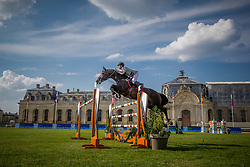 Philippaerts Nicola, BEL, H&M Chilli Willi<br /> Global Champions Tour - Chantilly 2018<br /> © Hippo Foto - Eric Knoll<br /> 14/07/2018