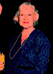 MAUREEN, MARCHIONESS OF DONEGALL at a party in London on 18th April 1998.MGS 1 WORO