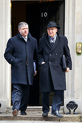 © licensed to London News Pictures. London, UK 18/03/2015. Scottish Secretary Alistair Carmichael and Business Secretary Vince Cable attending to a cabinet meeting in Downing Street on the Budget Day, Wednesday, 18 March 2015. Photo credit: Tolga Akmen/LNP