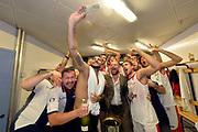 DESCRIZIONE : Supercoppa 2015 Finale EA7 Emporio Armani Milano - Grissin Bon Reggio Emilia<br /> GIOCATORE : team<br /> CATEGORIA : esultanza postgame<br /> SQUADRA : Grissin Bon Reggio Emilia<br /> EVENTO : Supercoppa 2015<br /> GARA : EA7 Emporio Armani Milano - Grissin Bon Reggio Emilia<br /> DATA : 27/09/2015<br /> SPORT : Pallacanestro <br /> AUTORE : Agenzia Ciamillo-Castoria/Max.Ceretti
