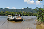 Daintree river ferry, North Queensland