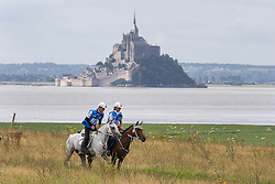 Simona Garatti, (ITA), Hanifa, Daniele Serioli, Santa du Sauveterre<br /> Alltech FEI World Equestrian Games™ 2014 - Normandy, France.<br /> © Hippo Foto Team - Leanjo de Koster<br /> 25/06/14