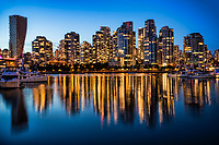 Vancouver Twilight, False Creek