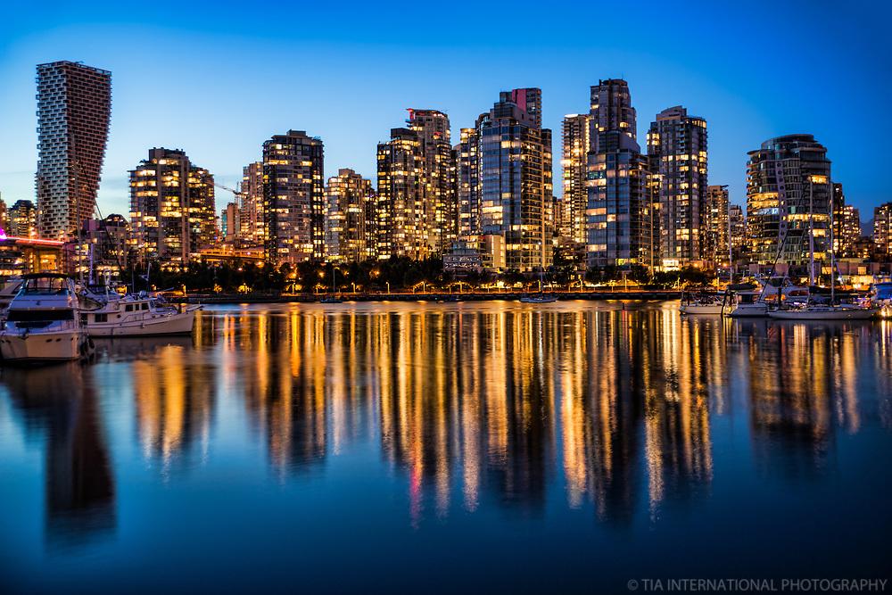 Vancouver Twilight, False Creek