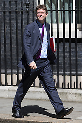 Downing Street, London, July 19th 2016. Business Secretary Greg Clark leaves the first full cabinet meeting since Prime Minister Theresa May took office.