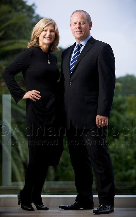Vinka and David Clemmett, Remuera Real Estate agency.