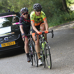 02-09-2017: Wielrennen: Boels Ladies Tour: Vaals: Romy Kasper: Alexis Ryan