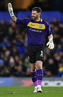 Football - 2018 / 2019 Emirates FA Cup - Fourth Round: Chelsea vs. Sheffield Wednesday<br /> <br /> Sheffield Wednesday's Keiren Westwood, at Stamford Bridge.<br /> <br /> COLORSPORT/ASHLEY WESTERN