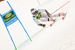 March 9, 2019 - Kranjska Gora, Kranjska Gora, Slovenia - Hannes Zingerle of Italy in action during Audi FIS Ski World Cup Vitranc on March 8, 2019 in Kranjska Gora, Slovenia. (Credit Image: © Rok Rakun/Pacific Press via ZUMA Wire)