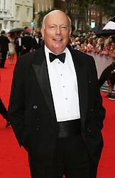 Lord Julian Fellowes, BAFTA Celebrates Downton Abbey, Richmond Theatre, London UK, 11 August 2015, Photo by Richard Goldschmidt /LNP © London News Pictures.