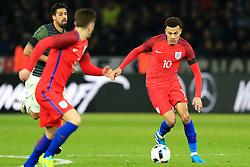 Englands Dele Alli attacks - Mandatory by-line: Matt McNulty/JMP - 26/03/2016 - FOOTBALL - Olympiastadion - Berlin, Germany - Germany v England - International Friendly
