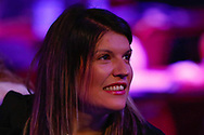 Gary Anderson's wife Rachel during the PDC World Championship darts at Alexandra Palace, London, United Kingdom on 14 December 2018.