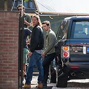 NLD/Amsterdam/20160908 - Opname nieuwe misdaadserie Odds, Tygo Gernandt en William Voogd