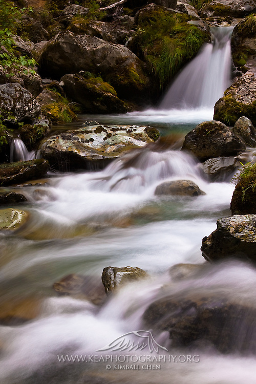Sugar Loaf Stream, Routeburn Track, Mount Aspiring National Park