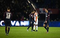 January 27, 2018 - Paris, France - Neymar Jr ( PSG ) - Vitorino Hilton  (Credit Image: © Panoramic via ZUMA Press)