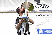 Gonzalo Higuain<br /> Esultanza Juventus Campione d'Italia . Celebration Juventus Italian championship winner <br />  Torino 21-05-2017 Juventus Stadium Football Calcio Serie A 2016/2017 Juventus - Crotone .<br /> Foto Image Sport / Insidefoto