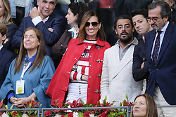 May 14, 2018 - Madrid, Spain - Nieves Álvarez  during day 9 of the Mutua Madrid Open tennis tournament at the Caja Magica in Madrid, Spain. on May 12, 2018 in Madrid, Spain  (Credit Image: © Oscar Gonzalez/NurPhoto via ZUMA Press)