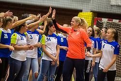 Misa Marincek during Exhibition game of Slovenian women handball legends on 29th of September, Celje, Slovenija 2018
