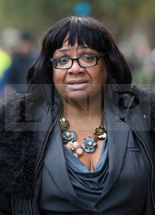 © Licensed to London News Pictures. 05/01/2016. London, UK. Labor MP DIANE ABBOTT attends a demo against the planned housing bill in Westminster, London  on the day that Jeremy Corbyn is expected to announce a shadow cabinet reshuffle. Photo credit: Ben Cawthra/LNP
