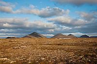 Burfellshraun; Iceland; Skogmannafjoll; Thingeyjarsyslur