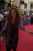 Rebecah Wade. BAFTA Television Awards, sponsored by the Radio Times, Grosvenor House. London. 13 May 2001. © Copyright Photograph by Dafydd Jones 66 Stockwell Park Rd. London SW9 0DA Tel 020 7733 0108 www.dafjones.com