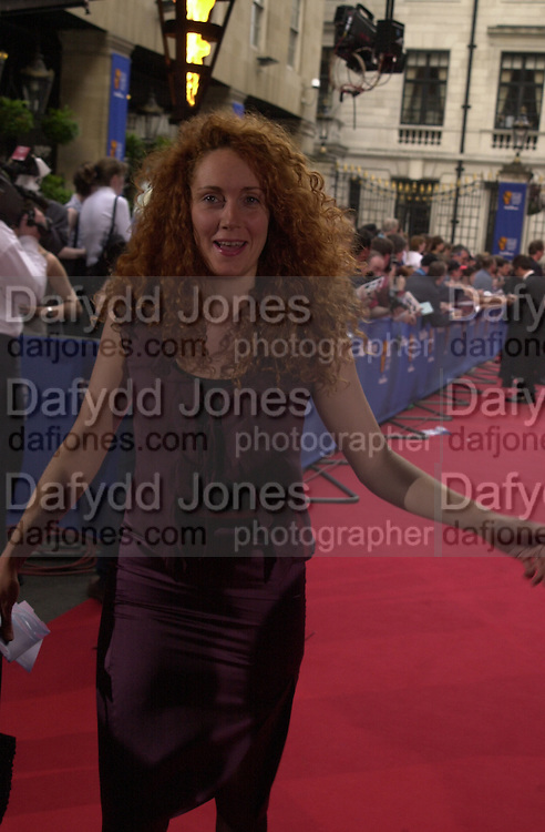 Rebecah Wade. BAFTA Television Awards, sponsored by the Radio Times, Grosvenor House. London. 13 May 2001. © Copyright Photograph by Dafydd Jones 66 Stockwell Park Rd. London SW9 0DA Tel 020 7733 0108 www.dafjones.com