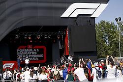 May 9, 2019 - Barcelona, Spain - Motorsports: FIA Formula One World Championship 2019, Grand Prix of Spain, ..F1 Fan Event, #77 Valtteri Bottas (FIN, Mercedes AMG Petronas Motorsport) (Credit Image: © Hoch Zwei via ZUMA Wire)