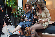 POLLY SHALSON; JULIETTE, Dogs Trust Honours 2009, A celebration of man's best friend. The Hurlingham Club, Ranelagh Gardens, London, SW6. 19 May 2009.