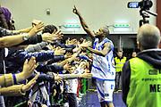 Tony Easley, Commando Ultra' Dinamo<br /> Banco di Sardegna Dinamo Sassari - Scavolini Banca Marche VL Pesaro<br /> Legabasket Serie A Beko 2012-2013<br /> Sassari, 24/02/2013<br /> Foto L.Canu / Ciamillo-Castoria