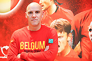 TENNIS - COUPE DAVIS - FINAL - BELGIUM TRAINING AND PRESS CONFERENCE 141117