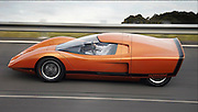 The 'car of the future' (from 1969) is back on the road: armed with CCTV, hydraulic roof... and a magnetic 'GPS' system<br /> <br /> 'Concept cars' are unveiled by car makers to show off new technologies. Sometimes they evolve into production vehicles, sometimes they don't - but very occasionally, they offer a vision of the future. <br /> Holden's Hurricane - unveiled 42 years ago in Melbourne - was packed with decades-worth of technologies that have become standard in cars. The Hurricane not only had digital displays, it also had a primitive magnetic GPS system, a rear-view CCTV camera, and a hydraulic entry system that would have made the Dukes of Hazzard jealous - the entire roof lifted off on hydraulic plates.<br /> Now the concept car has been brought back to life at a motor show in Melbourne.<br /> Other 'extras' that would then have smacked of science fiction included a 'Comfortron' air-conditioning system, and a radio with auto-seek, rather than a tuning knob.<br /> Even the engine was futuristic - a 4.2-litre Holden V8, turning out 259hp. <br /> 'At Holden we have always prided ourselves on our ability to look into the future through our concept cars,' said Michael Simcoe, executive director of General Motors International Operations.<br /> 'It's amazing to think that the features we take for granted today were born out of creative minds over 40 years ago.'<br /> The 'Pathfinder' GPS system was perhaps the most out-there idea - showing a glowing arrow that told drivers which way to turn, and a buzzer that warned of an upcoming junction.<br /> ©Exclusivepix