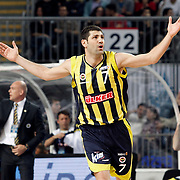 Fenerbahce's Omer ONAN during their Turkish Basketball Legague Play-Off semi final second match Efes Pilsen between Fenerbahce at the Sinan Erdem Arena in Istanbul Turkey on Friday 27 May 2011. Photo by TURKPIX