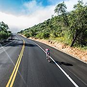 Rachel McBride with the open road ahead.