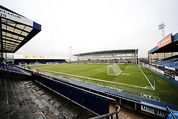 A general view of Boundary Park ahead of the SkyBet League 1 clash between Oldham Athletic and Bristol City - Photo mandatory by-line: Matt McNulty/JMP - Mobile: 07966 386802 - 03/04/2015 - SPORT - Football - Oldham - Boundary Park - Oldham Athletic v Bristol City - Sky Bet League One