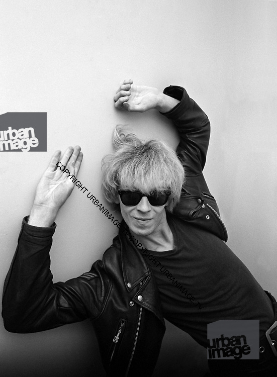 Teardrop Explodes Julian Cope at Island Records