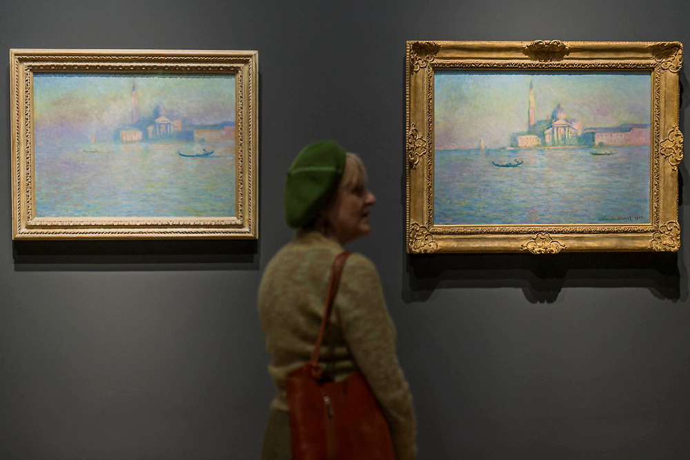 San Giorgio Magiore, 1908 - The Credit Suisse Exhibition: Monet & Architecture a new exhibition in the Sainsbury Wing at The National Gallery.