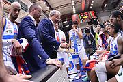 DESCRIZIONE : Campionato 2014/15 Dinamo Banco di Sardegna Sassari - Grissin Bon Reggio Emilia<br /> GIOCATORE : Romeo Sacchetti<br /> CATEGORIA : Allenatore Coach Time Out<br /> SQUADRA : Dinamo Banco di Sardegna Sassari<br /> EVENTO : LegaBasket Serie A Beko 2014/2015<br /> GARA : Dinamo Banco di Sardegna Sassari - Grissin Bon Reggio Emilia<br /> DATA : 22/12/2014<br /> SPORT : Pallacanestro <br /> AUTORE : Agenzia Ciamillo-Castoria / Luigi Canu<br /> Galleria : LegaBasket Serie A Beko 2014/2015<br /> Fotonotizia : Campionato 2014/15 Dinamo Banco di Sardegna Sassari - Grissin Bon Reggio Emilia<br /> Predefinita :