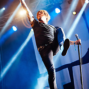 Benjamin Kowalewicz/Billy Talent performing live at the Rock A Field Festival in Luxembourg, Europe on June 24, 2012