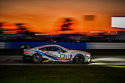 March 13, 2019 - Sebring, Etats Unis - 81 BMW TEAM MTEK (DEU) BMW M8 GTE GTE PRO MARTIN TOMCZYK (DEU) NICKY CATSBURG (NLD) ALEXANDER SIMS  (Credit Image: © Panoramic via ZUMA Press)