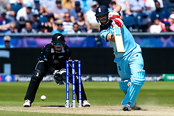 Chris Woakes of England batting - Mandatory by-line: Robbie Stephenson/JMP - 03/07/2019 - CRICKET - Emirates Riverside - Chester-le-Street, England - England v New Zealand - ICC Cricket World Cup 2019 - Group Stage