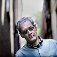 Nederland,Amsterdam ,11 juni 2008..Paul Benjamin Auster (* 3 februari 1947) is een Amerikaanse auteur. Hij is getrouwd met schrijfster Siri Hustvedt.Door zijn rijke en onverwacht droomachtige proza, wordt Paul Auster beschouwd als één van de grootste levende schrijvers uit de V.S. .American writer Paul Auster.